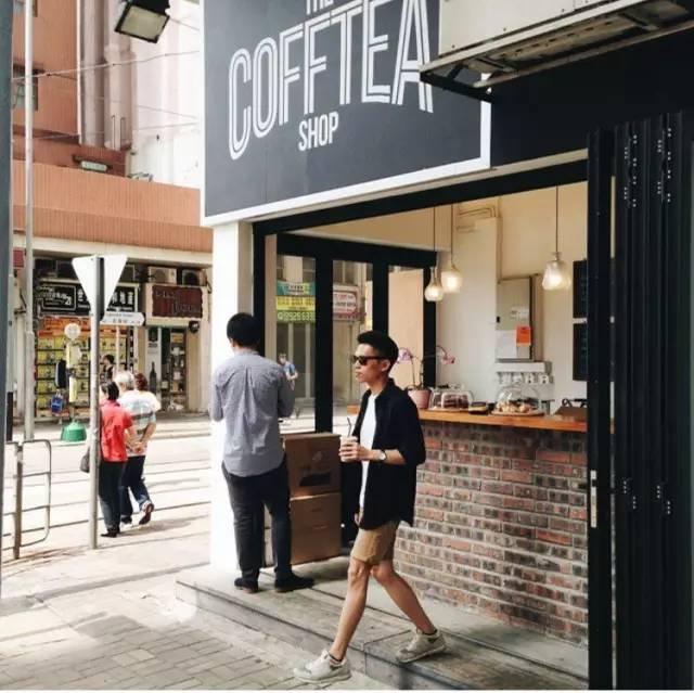 中国最小的咖啡馆都在这里,小到上海2㎡的路边摊