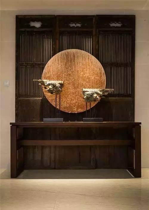 新中式玄关,永不落幕的经典设计!