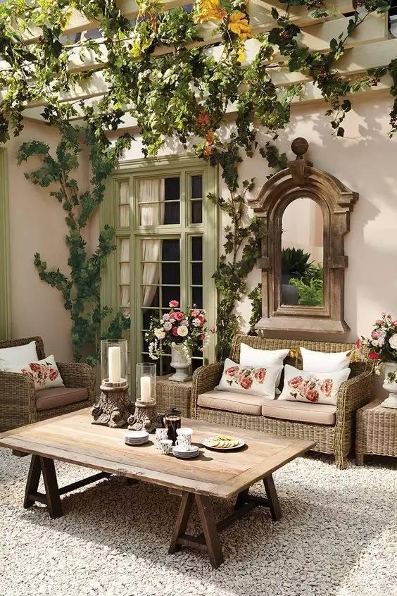 想要一个这样子的院子