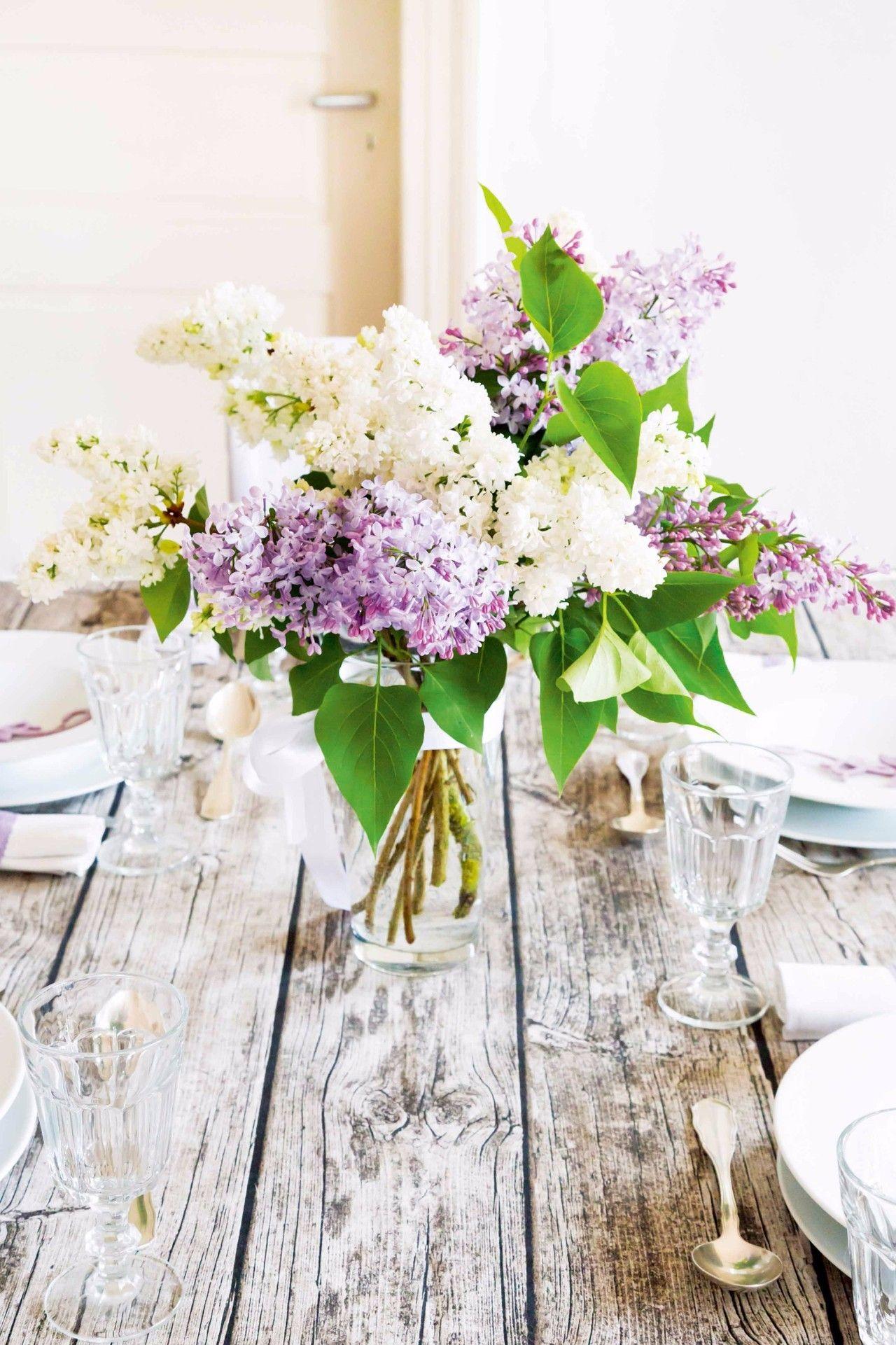 这5种花艺布置让你的家庭聚会焕然一新!