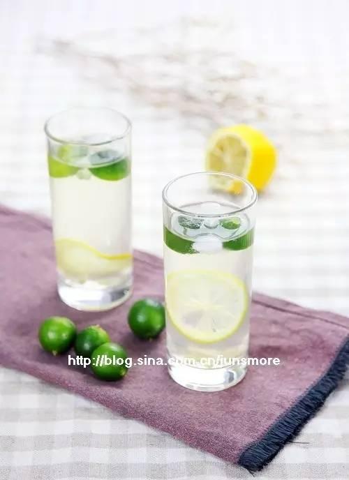 5分钟做道沁凉饮品---金桔柠檬水