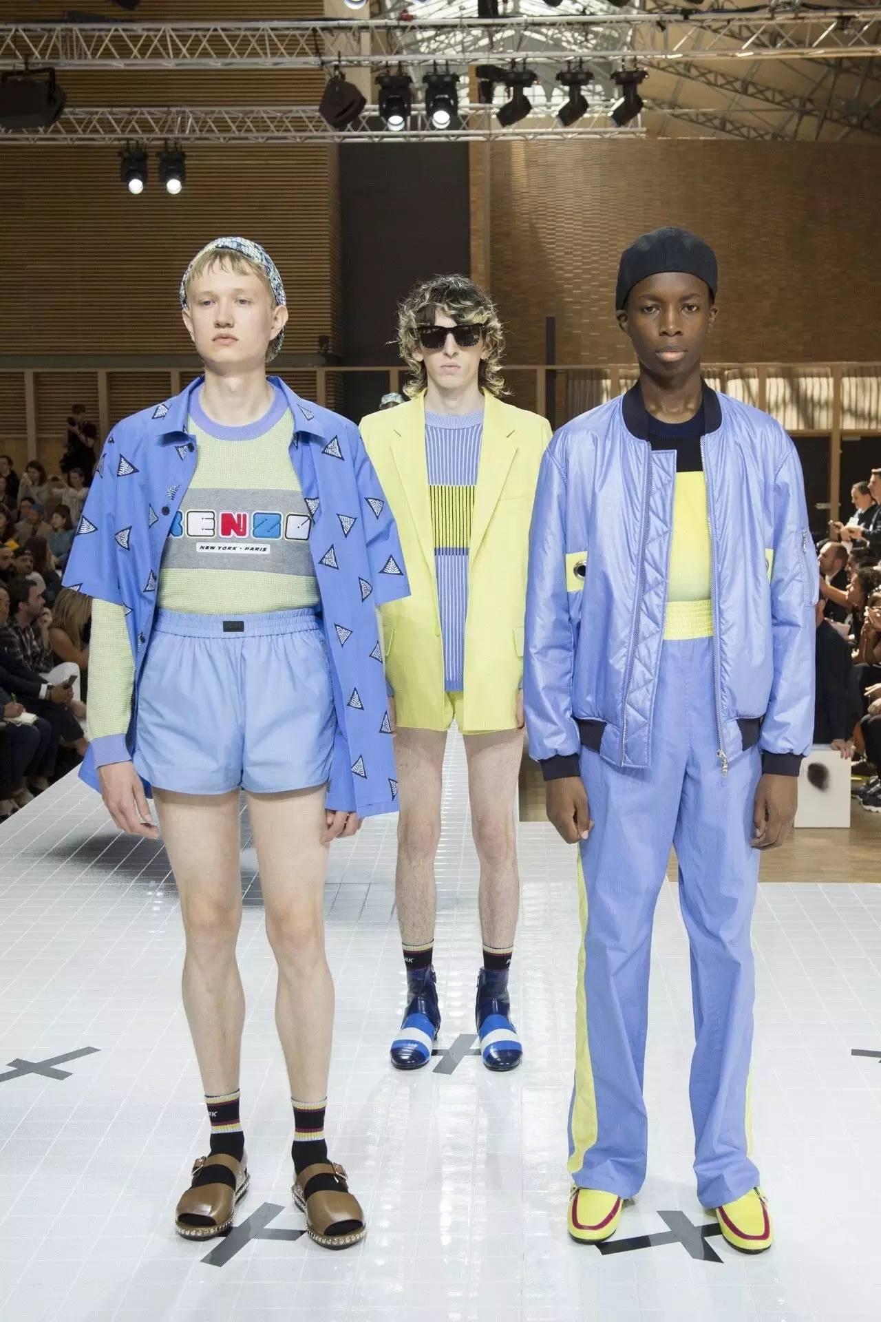 男装周|Dior、Hermès、Kenzo…男装可以这样调皮