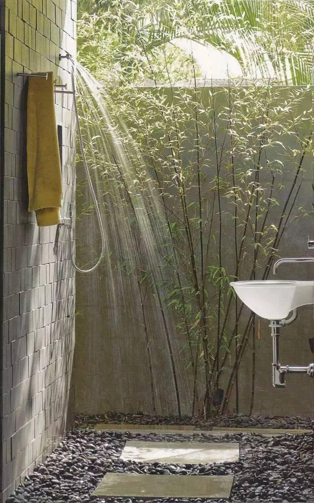 ㊙ 原来浴室还可以这样的~~~