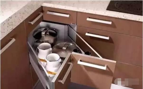 厨房转角利用, 充分利用每一寸空间