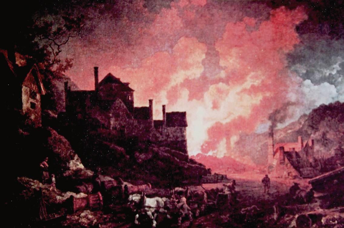 欧洲画家笔下的工业革命