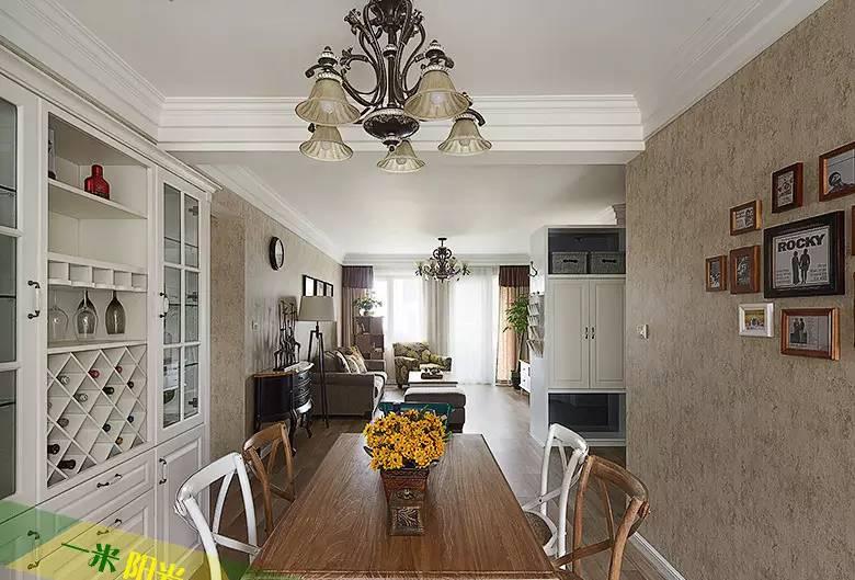 夫妻精心装修120平3居室 惊艳美宅