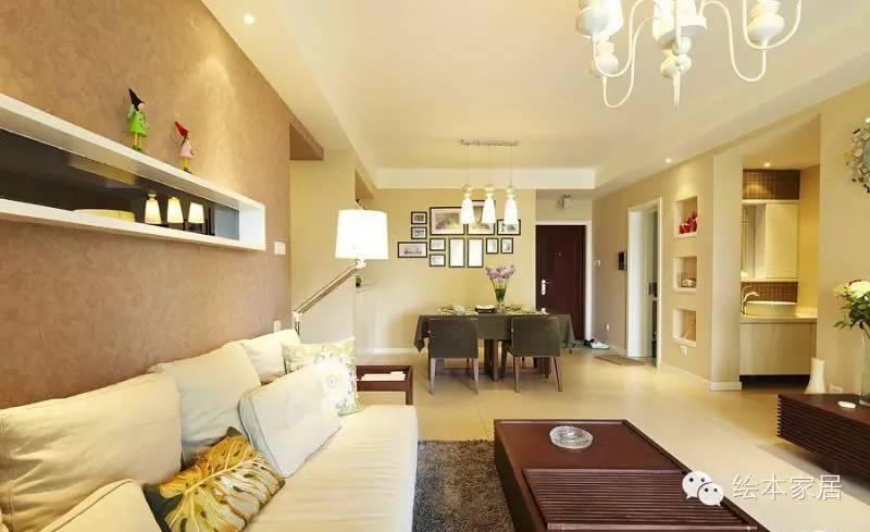 白领8万装修100平现代简约三室婚房
