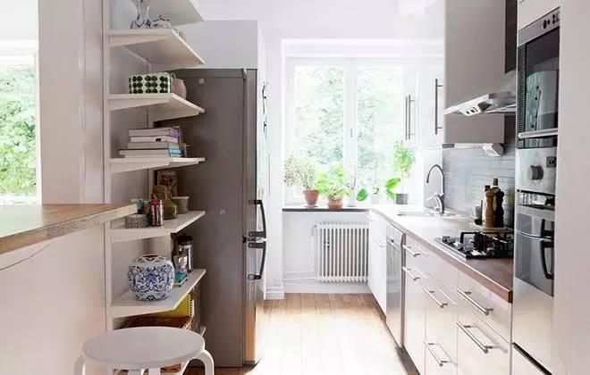 4平米厨房玩出新花样, 35款小户型厨房,总有一款适合你。