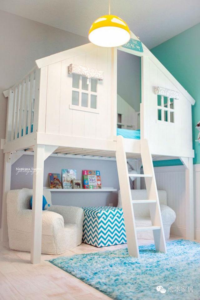 最美的儿童房,看完是不是想再生一个?