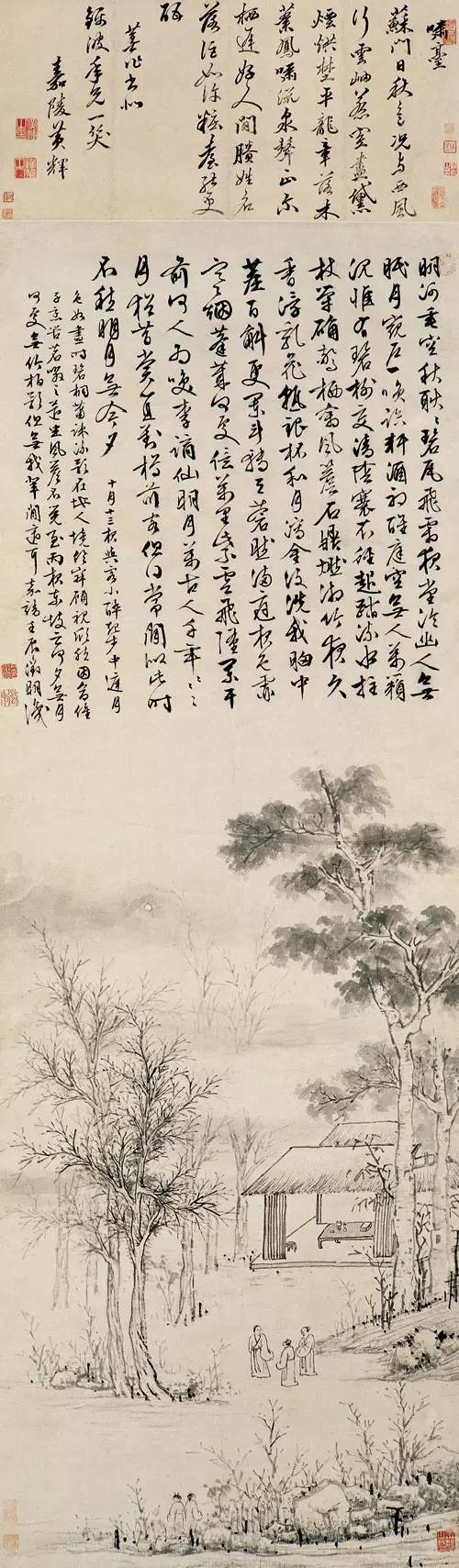 中国书画里的中秋(作品解析)