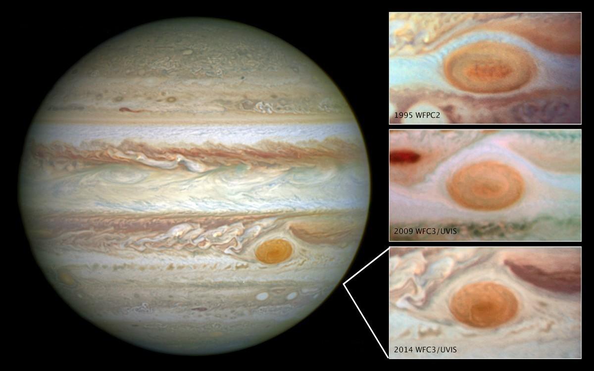 木星的大红斑可能是一个巨大的热源