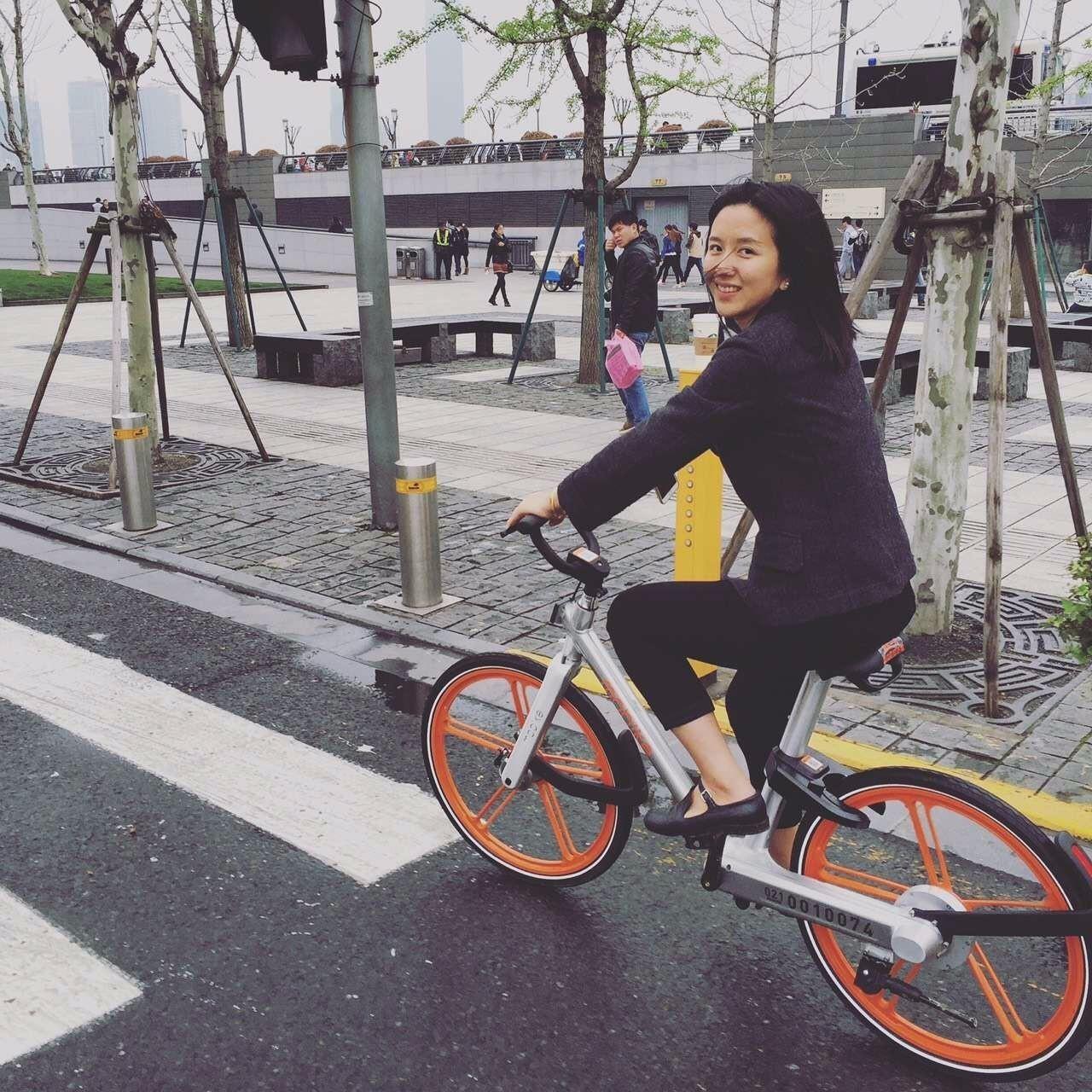 摩拜单车美女创始人32分钟演讲:为什么做出摩拜的人是我?l 附视频