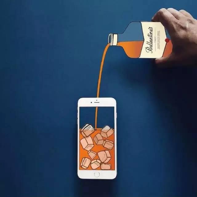 插画师遇上手机控,手机杯具了···