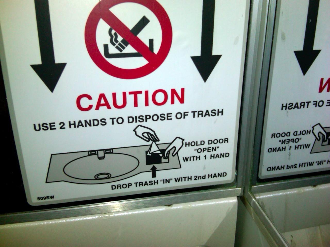 旅行时看到这样的警示牌,你一定会懵逼几秒钟 | 好奇