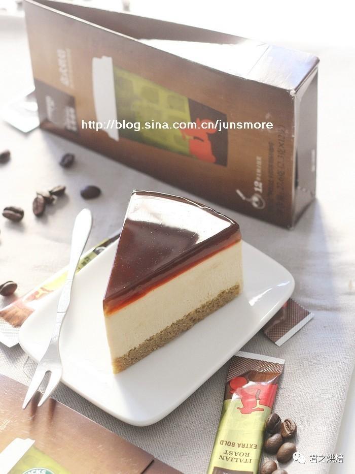 怎能不心动?——咖啡焦糖奶酪蛋糕
