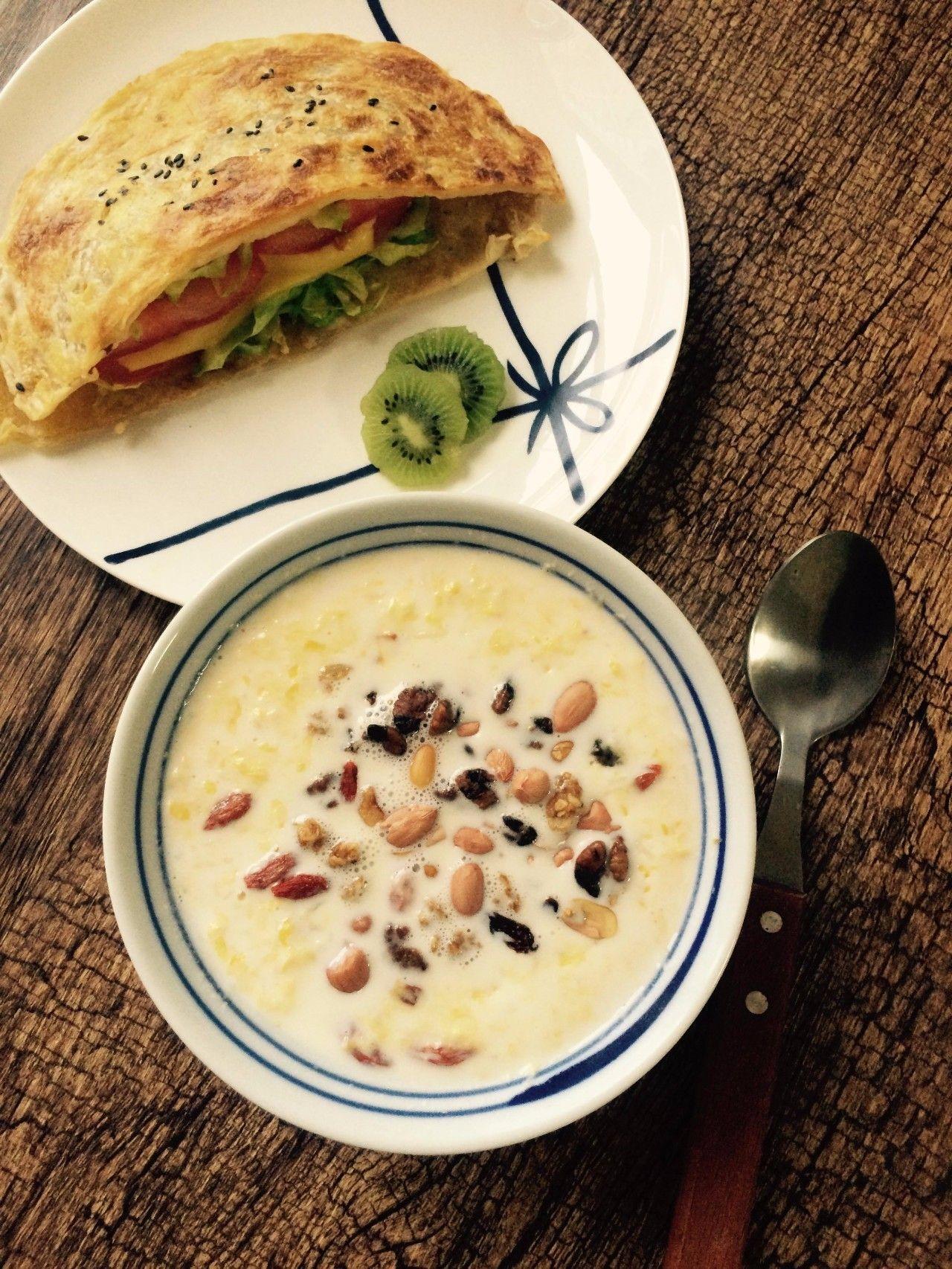 牛奶+鸡蛋,早餐老搭档,N多新吃法!