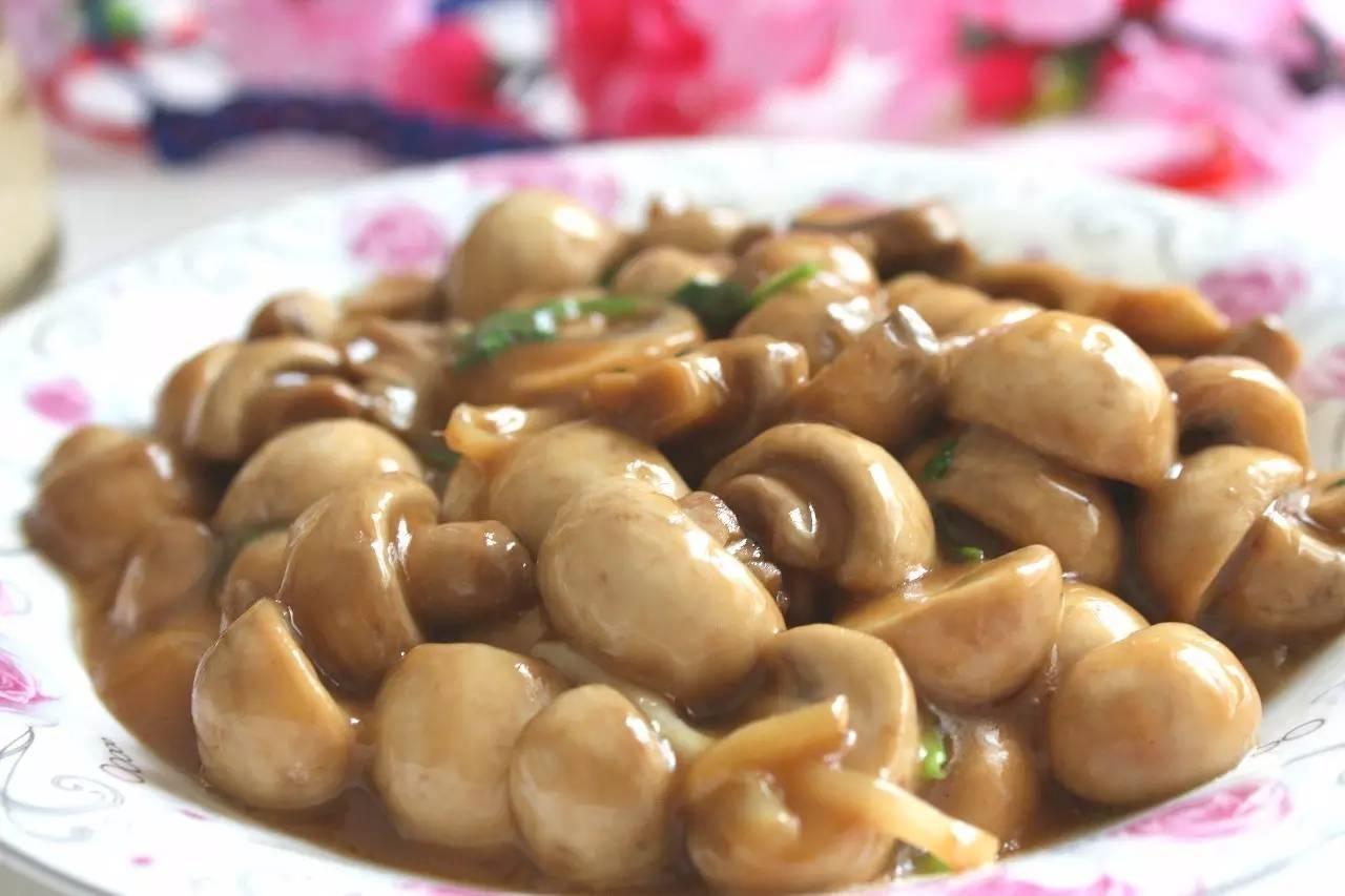 素炒口蘑,原汁原味的鲜美