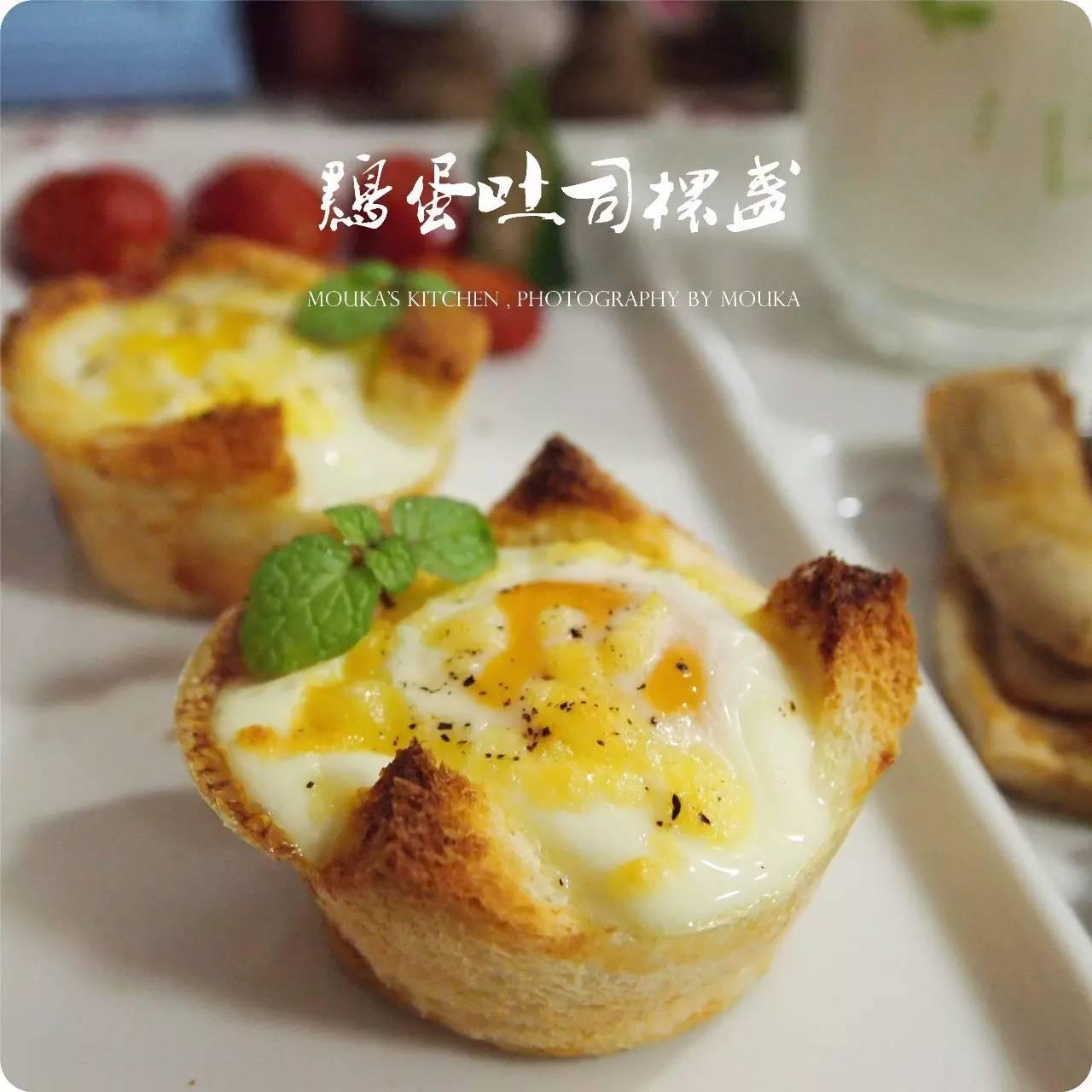 吐司加鸡蛋,早餐老搭档的7种新吃法