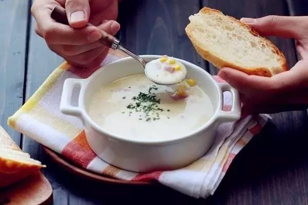 火腿玉米浓汤,香浓美味轻松煮