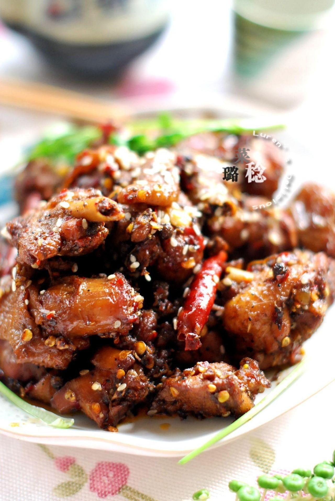 鸡肉这样吃,麻辣鲜香超下饭