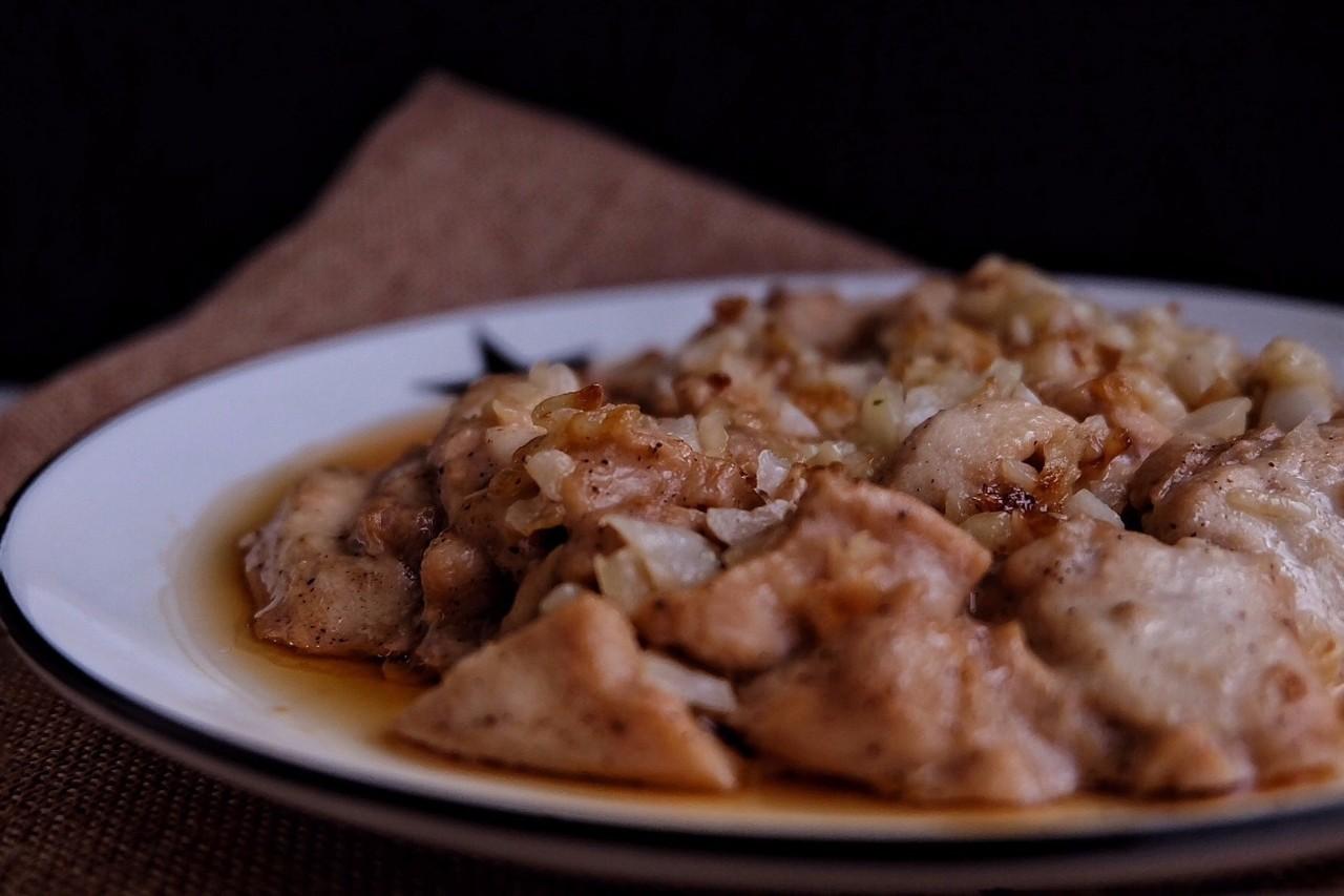 蒜蓉蒸鸡肉: 越简单越鲜美