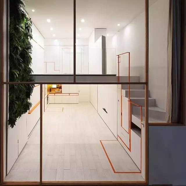 再惊艳的改造家,也不如它销魂,一个会变形的40平小宅