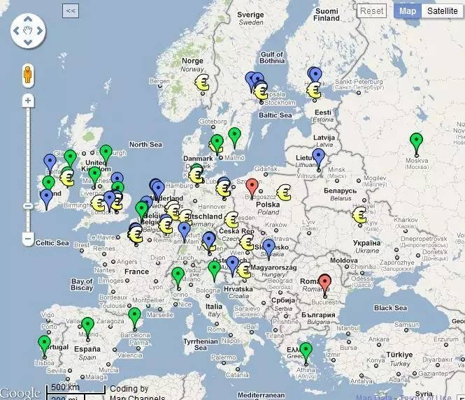 欧洲最酷的创业公司都在做什么?