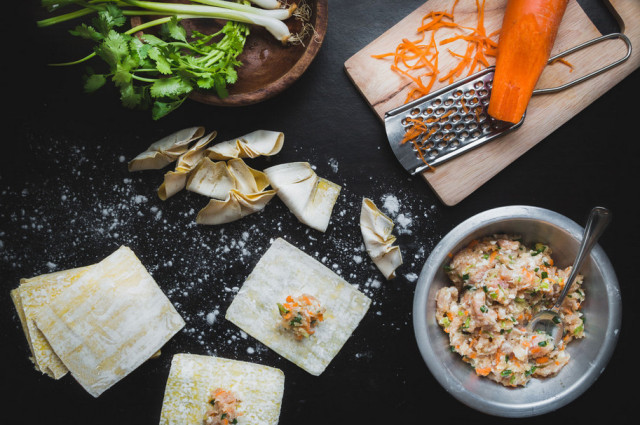 跟你吃饭,咸菜白粥都是山珍海味