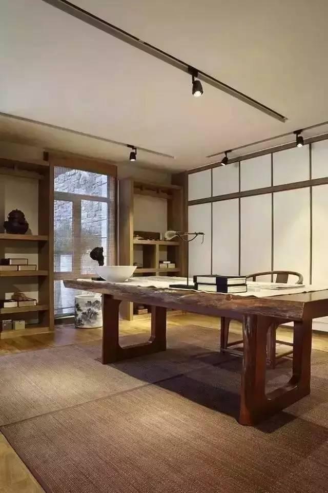 这样的中式书房,你应该有一间 !