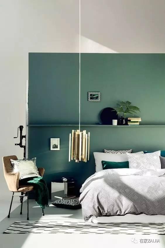 灰绿,最适合大面积上墙的颜色