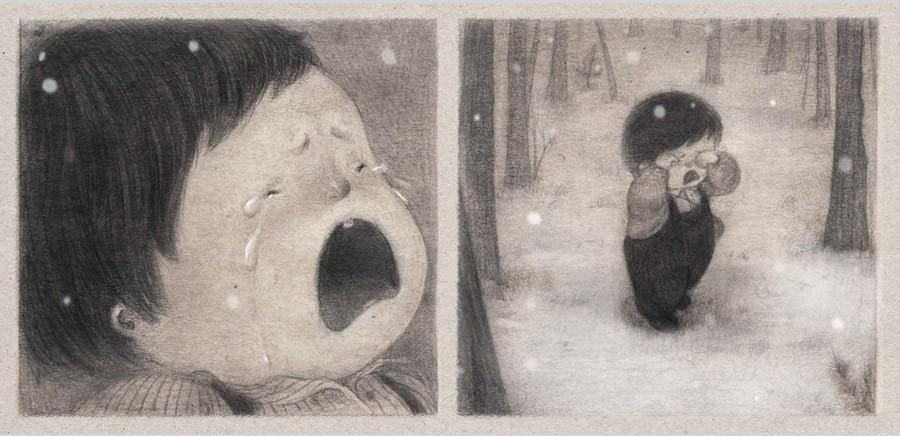 山西穷插画师闭门一年半,画了一本关于孤独的书,感动全世界