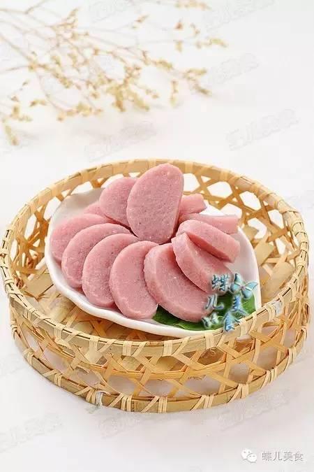 浪漫粉红酸甜可口蔓越莓糍粑