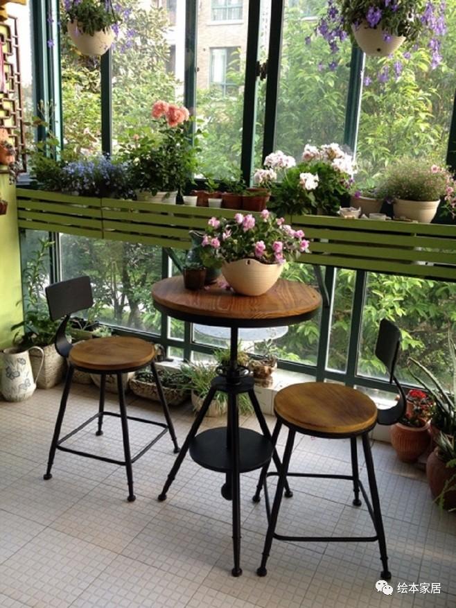 这才是我想要的阳台!!