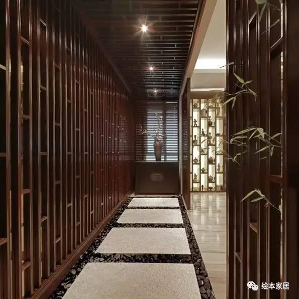 朋友家的190平复式楼新中式设计,大而不空,厚而不重!