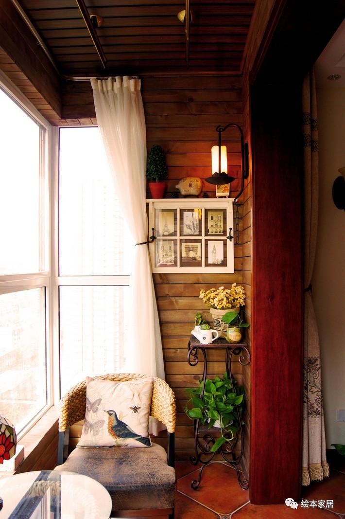 阳台改成这样,朋友来了都不待客厅了!