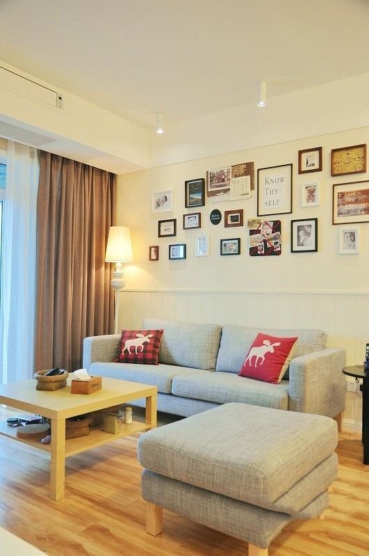 沙发背景墙这样做,让客厅眼前一亮!