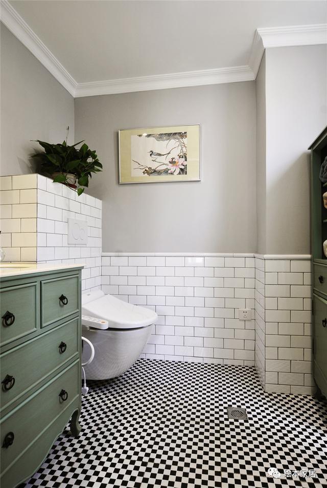 姐姐的124㎡现代美式家,美得像清婉的可人!