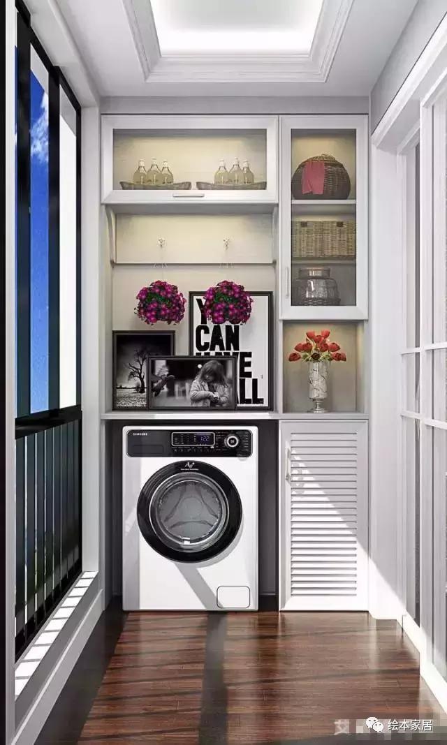 洗衣机还是放阳台好。