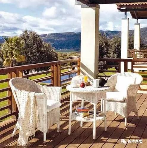 无与伦比的美丽 30款超惊艳的小户型阳台装修方案