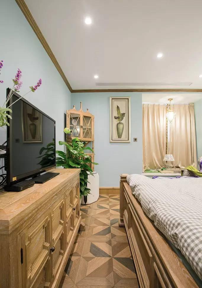 135平美式田园乡村三居室,确定不是你想要的?