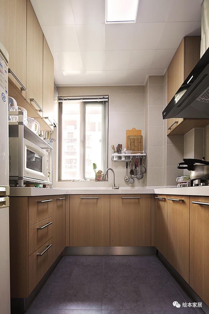 小户型的厨房应该这么做!
