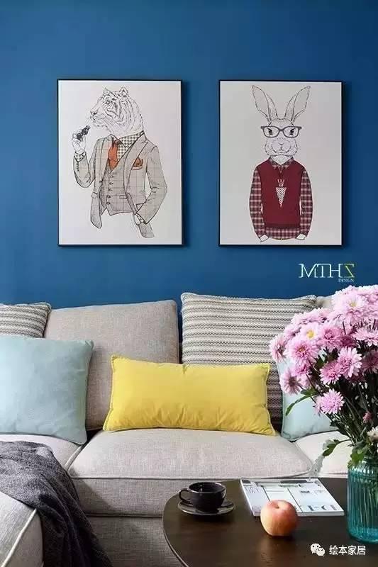 沙发背景墙别放空,这样布置美得没话说!