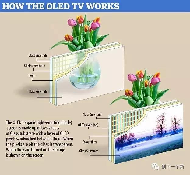 将来的透明玻璃都这么牛,还要电视机干吗?!