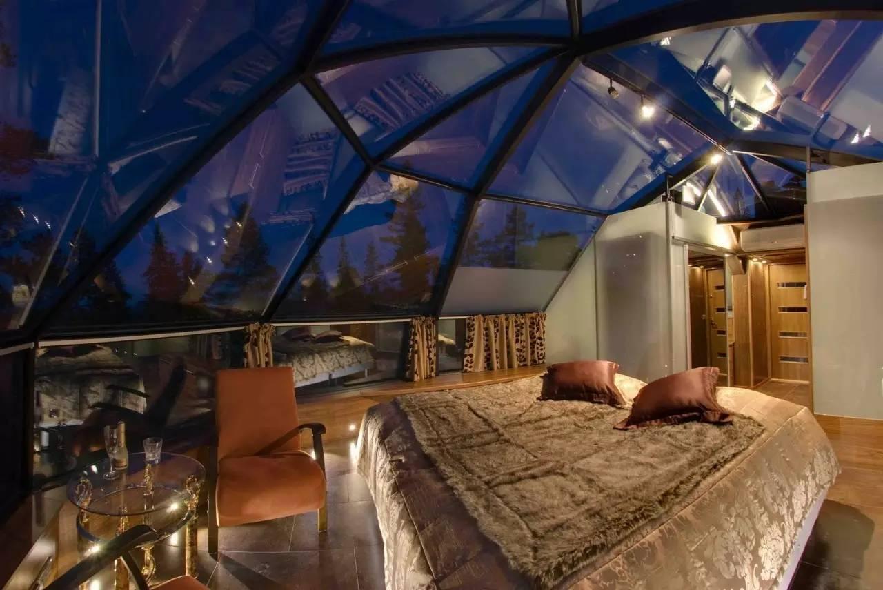 你会愿意抛弃一切,在这8家玻璃屋酒店里换得一夜温存