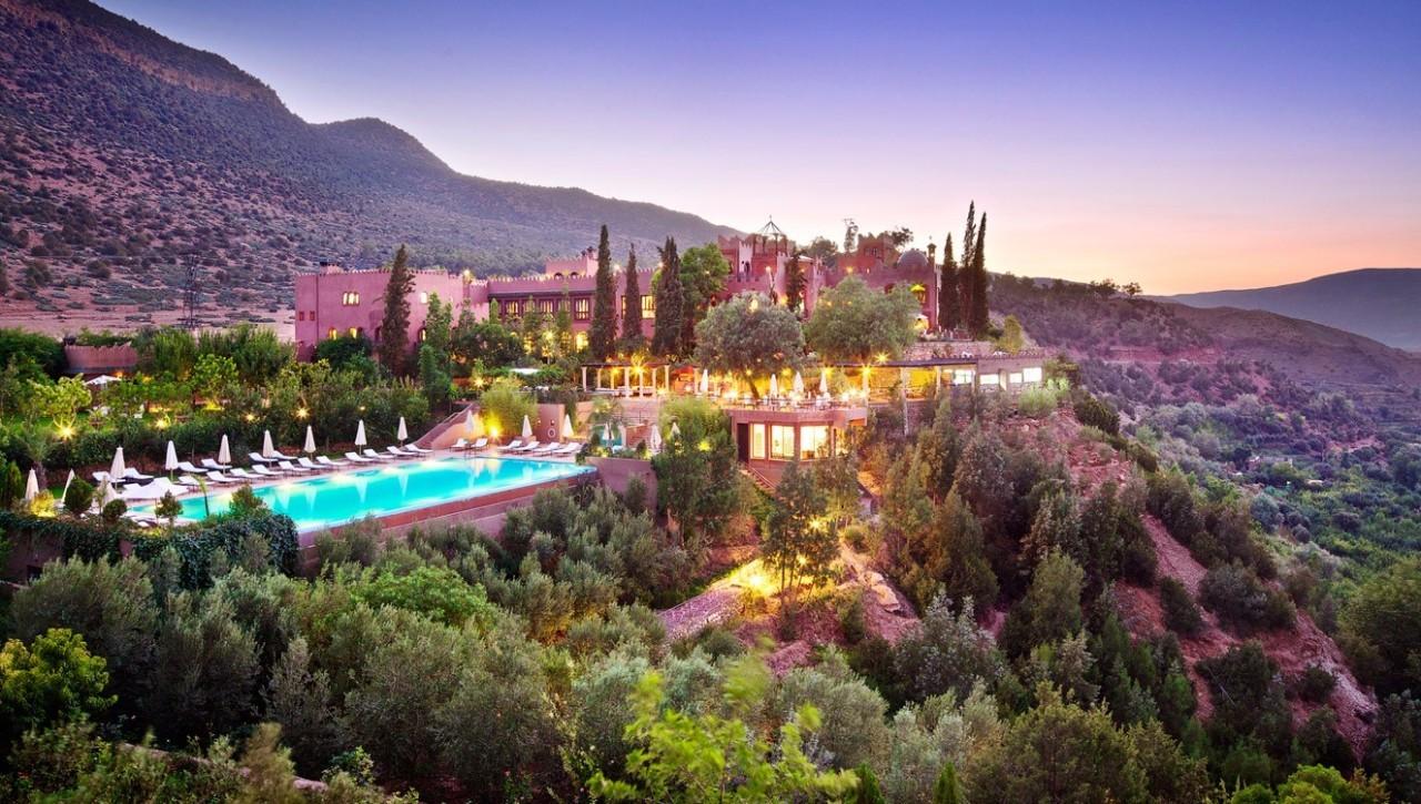 摩洛哥免签了,赞那度最想去这家瑰丽古堡,维珍老板理查德布兰森的私藏!
