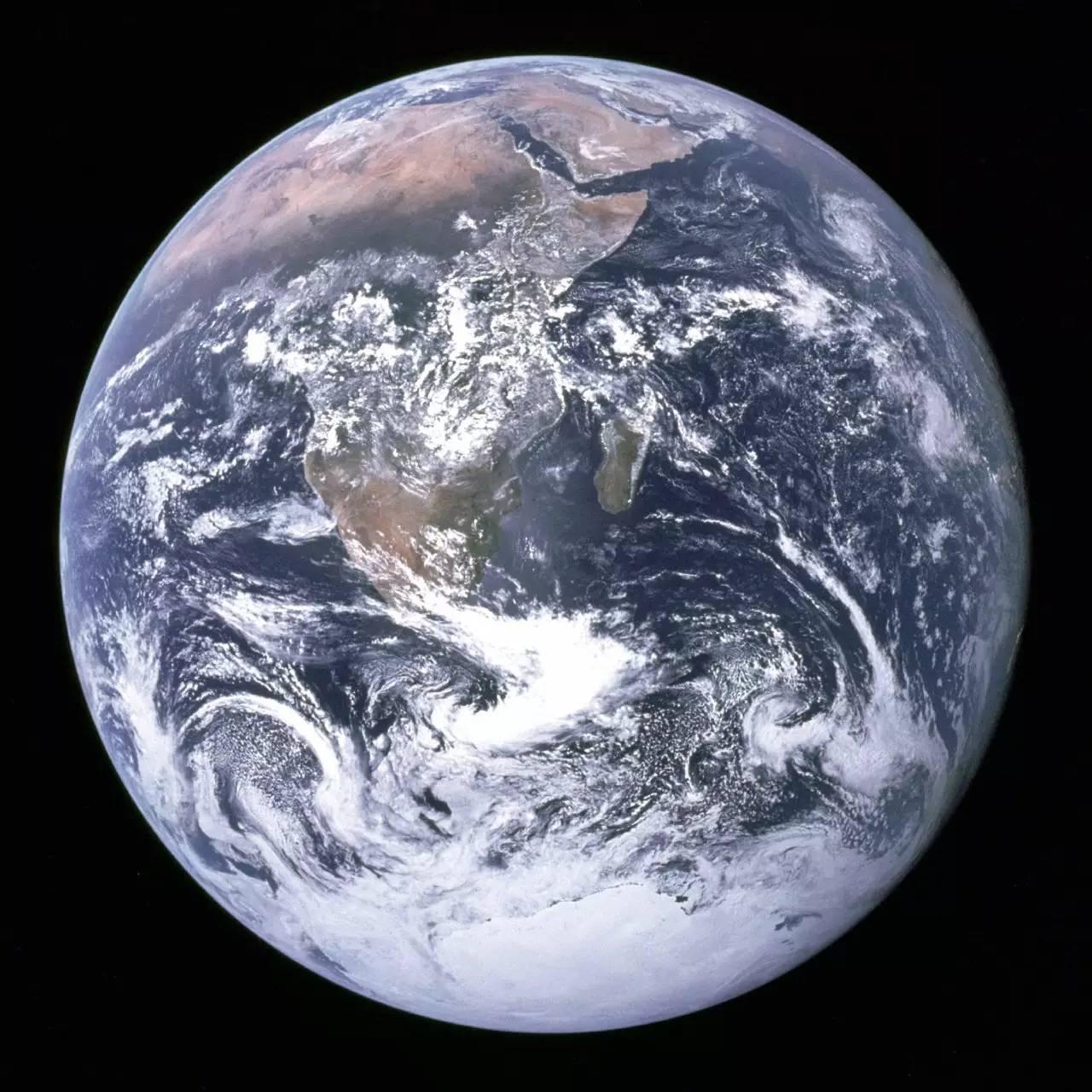 44年前的地球和如今的地球