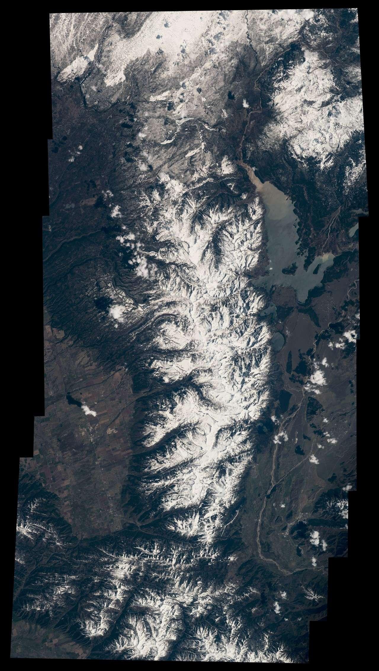 太空中看到的美国国家公园