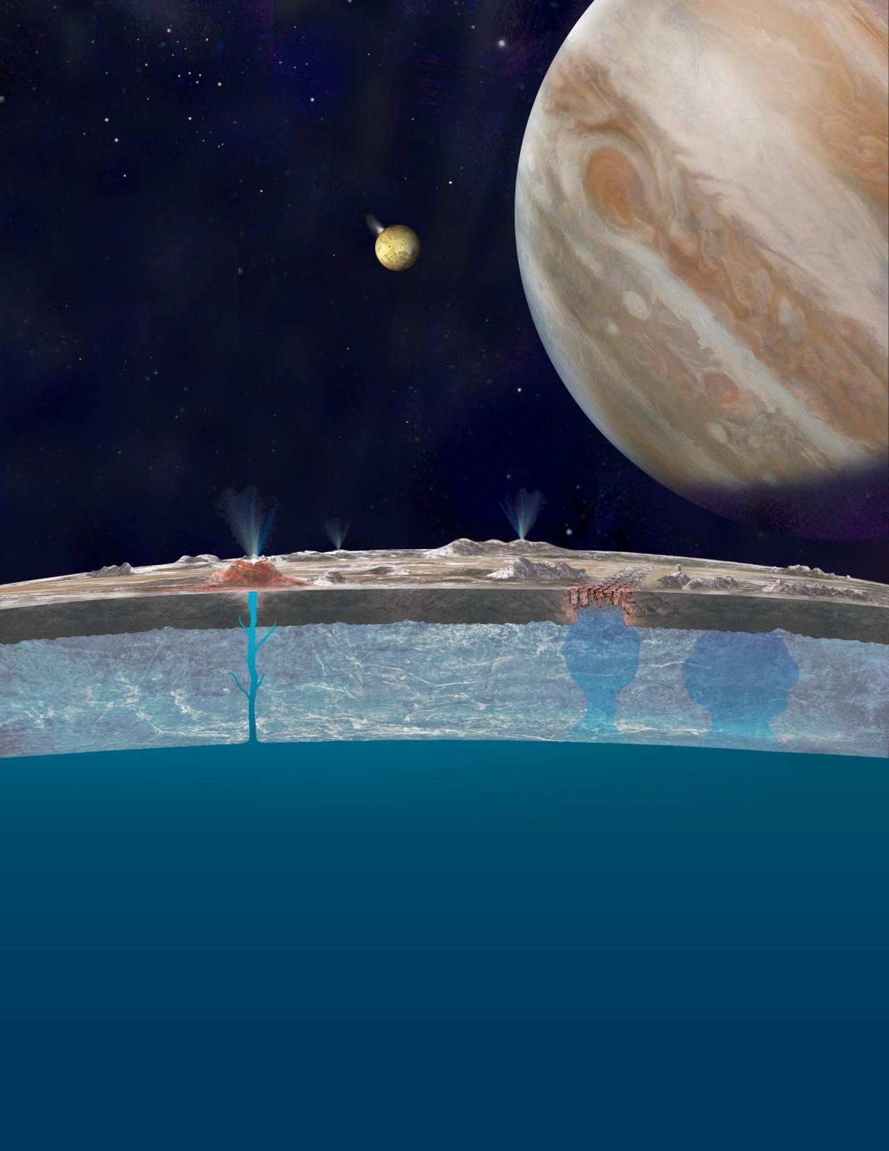 北京时间9月27日凌晨2时,NASA将公布木卫二欧罗巴令人惊奇的活动!