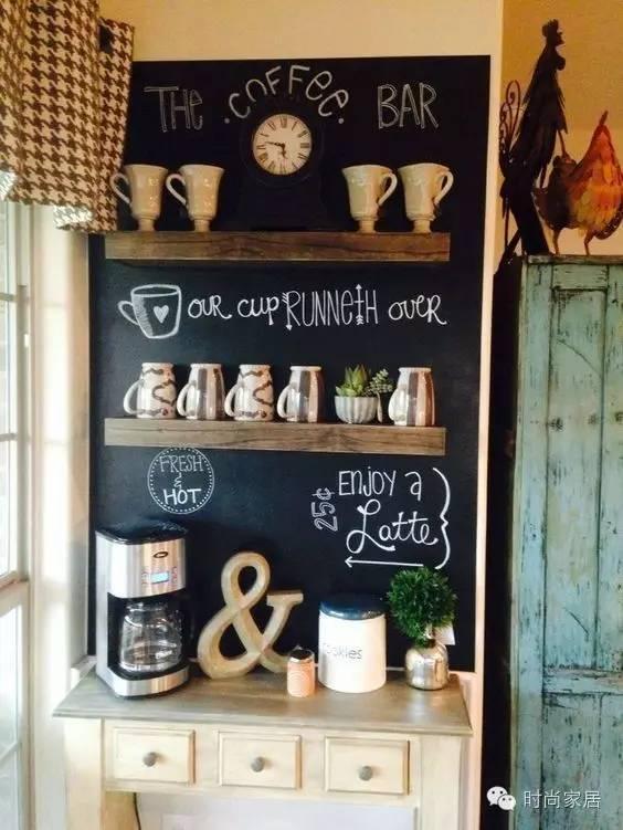 在家也要喝咖啡的你,怎么能少了咖啡角