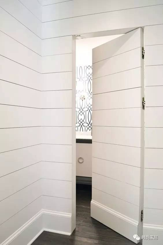 千篇一律的门有什么好看,你敢尝试隐形门吗?